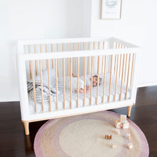 Load image into Gallery viewer, Riya Cot  - White/Beech