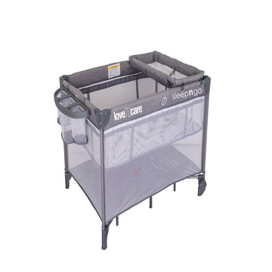 Sleep N Go Travel Cot - Grey