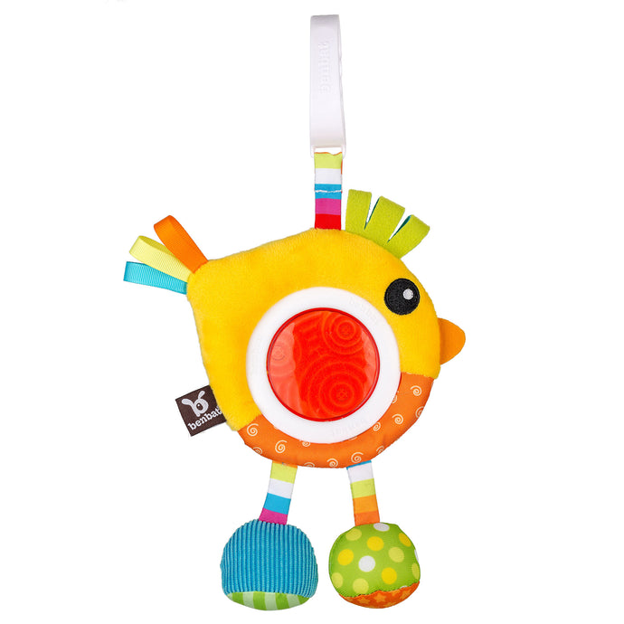 Ben-Bat Rattle Toy Fish or Bird