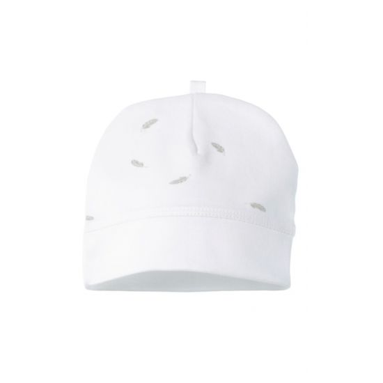 Premie Hat - Pale Grey Leaf with Spot