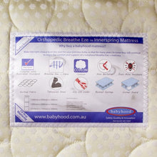Load image into Gallery viewer, Orthopedic Breathe Eze Innerspring Mattress