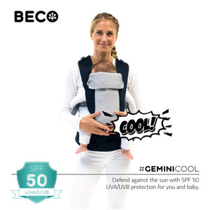Gemini Cool Baby Carrier - Black