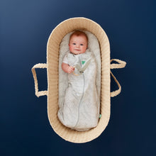 Load image into Gallery viewer, ergoPouch Cocoon Swaddle + Sleep Bag  (0.2 tog) - Rainforest Leaves