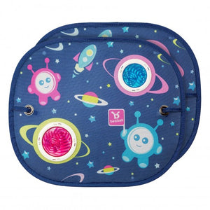 Ben-Bat Space Collection Sunshade Round 2-Pack