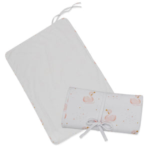Travel Change Mat - Waterproof - Swan Princess