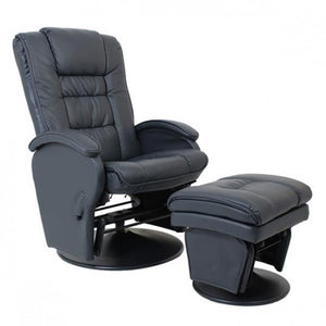 Eurobell Glider Chair - Slate Grey
