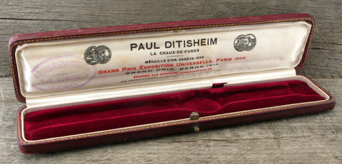 Paul Ditisheim La Chaux-De-Fonds Vintage Watch Box $495