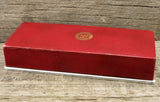 Red Longines 10 Grand Prix Coffin Style Watch Box SOLD