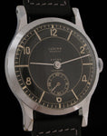 Lusina Geneve Extra Art Deco Black Sector Dial   SOLD