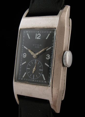Cyma Art Deco Caliber 335 3-Days Movement $350