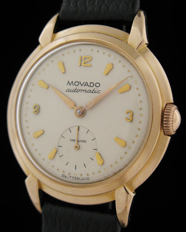 "18k Rose Gold Movado ""Bumper"" Automatic  SOLD"