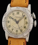 Longines Weems Military Crown Locking Bezel SOLD