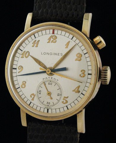 Longines Single Button Flyback Chronograph  SOLD