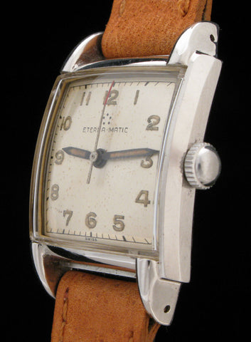 Eterna-Matic Automatic S.Steel Waterproof Case $500