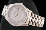 Rolex President 18k White Gold Near MINT SOLD