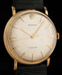 Rolex Precision 18K Rose Gold Ref 9659      SOLD