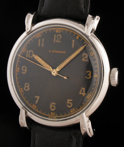 Oversize E.Gubelin In 37mm Fancy Steel Case  SOLD