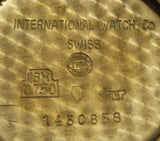 International Watch Co. IWC 18k Gold Cal. 401 SOLD