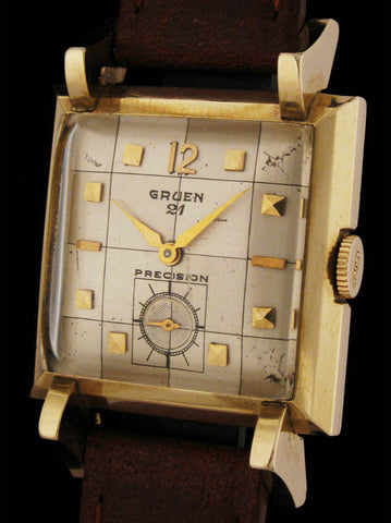"Gruen ""Bat-Wing""  Fancy Art Deco Wristwatch SOLD"