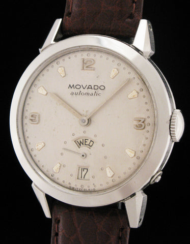 Rare Movado Day-Date Calendar Automatic SOLD