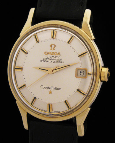 Omega Constellation 14K Gold/Steel Pie-Pan Dial SOLD