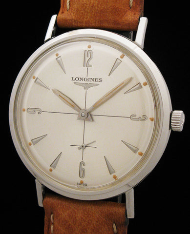 1959 Longines Dress Watch In Stainless Steel $749
