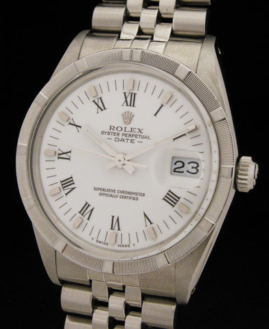 Rolex Oyster Perpetual Date 15010 S.Steel $2695