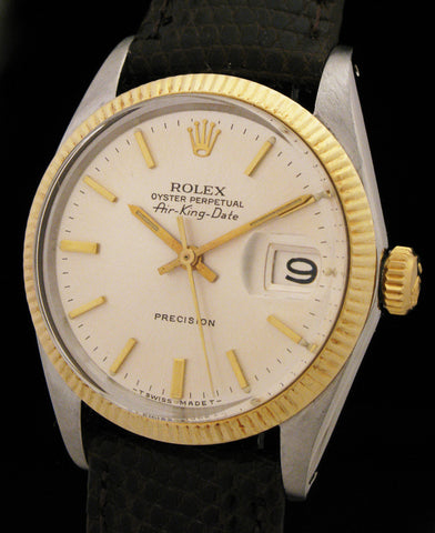 Rolex Air-King Date 5701 Two-Tone 14k/SS SOLD
