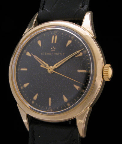 Eterna-Matic Self-Winding Black Dial SOLD