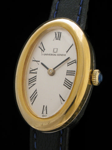 Universal Geneve Oval Roman Numeral Dial  SOLD