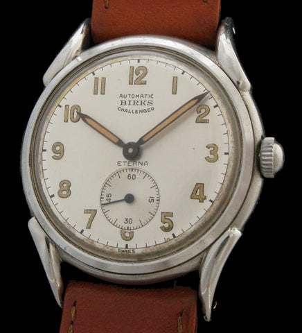 Birks Eterna Automatic Challenger Fancy Case  SOLD