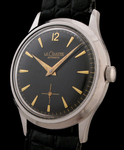 LeCoultre Thin Automatic Black Dial Cal. P-812  SOLD