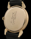 Movado Triple Date Turtle Lugs 14K Gold  SOLD