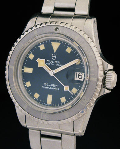 Tudor Prince Oysterdate Submariner Snowflake 9411/0 Ghost Bezel