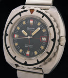 Bulova Snorkel Automatic 666Ft Triple 6 Dive Watch Model 774