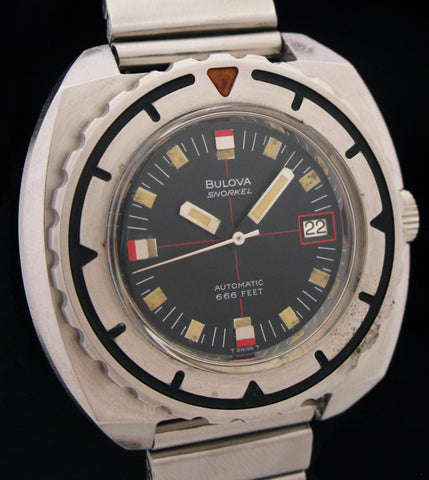 Bulova Snorkel Automatic 666Ft Triple 6 Model 774