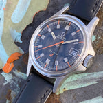 "1968 Omega ""Admiralty"" Automatic Geneve Black Dial 166.038"
