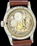 Fancy Art Deco Dial Tavannes Shock-Protected in Steel