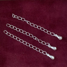 Load image into Gallery viewer, Sterling Silver Chain Extender