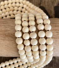 Load image into Gallery viewer, Natural Wood Beads