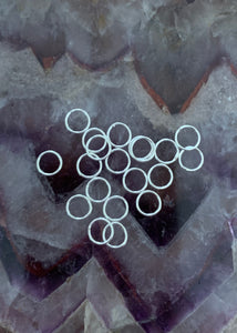 Sterling Silver Closed Rings