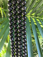 Load image into Gallery viewer, Black Tourmaline Beads