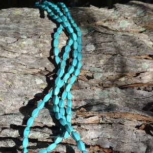 Blue Howlite Twists