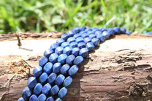 Load image into Gallery viewer, lapis Lazuli twist beads