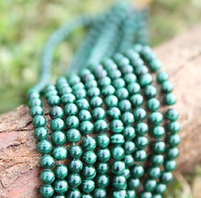 Load image into Gallery viewer, Malachite Beads