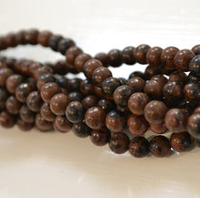 Load image into Gallery viewer, Mahogany Obsidian Beads