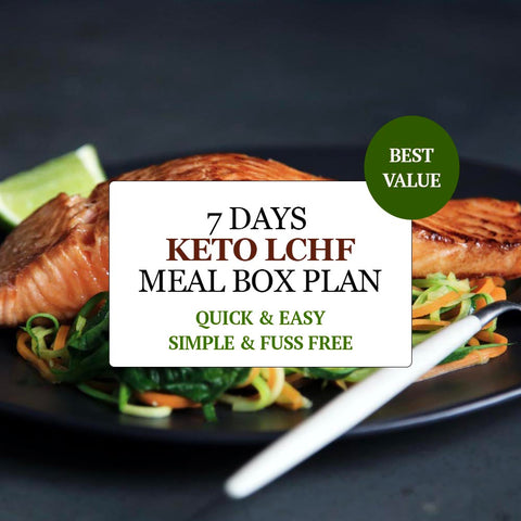 7 DAY KETO LCHF MEAL PLAN