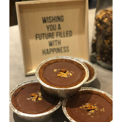 Nama Choc Tart with SeaSalt