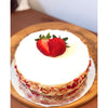 Strawberry Basil Cheesecake