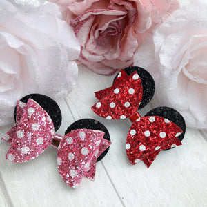 DISNEY COLLECTION - Minnie Mouse Ear Bows